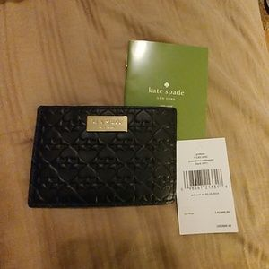 Kate Spade Penn Place Embossed Card Wallet